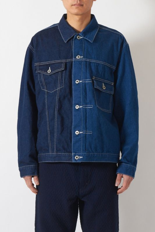 DENIM JACKET RINSE 21SS