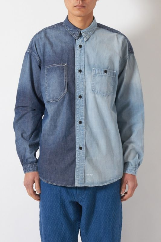 DENIM SHIRT 3YR WASH 21SS