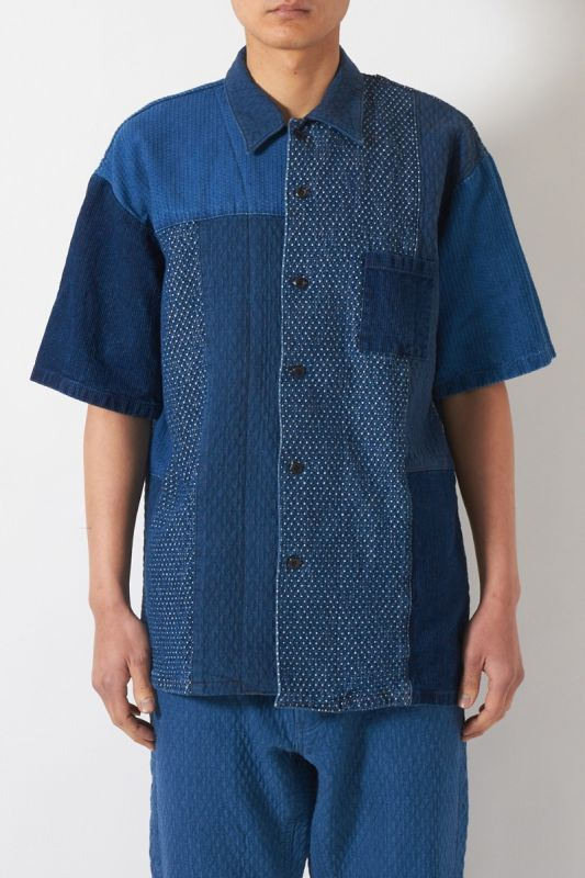 PATCHWORK S/S SHIRT 3YR WASH