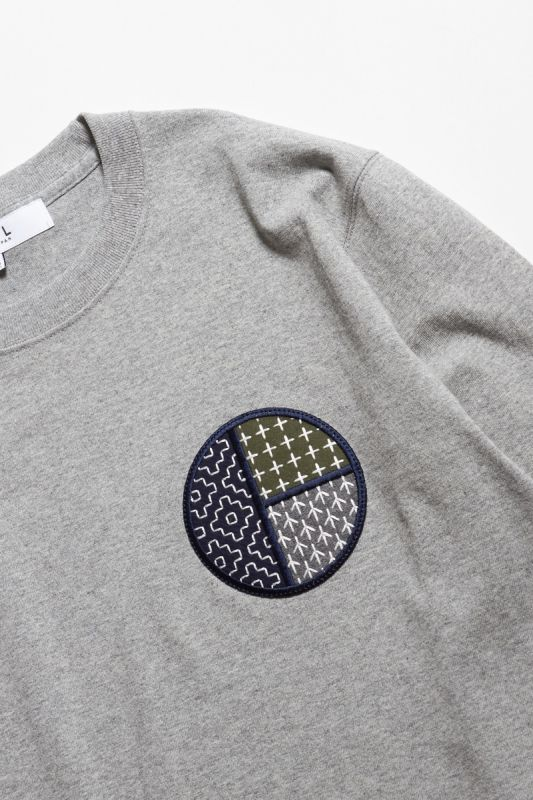 CIRCLE PATCH L/S TEE