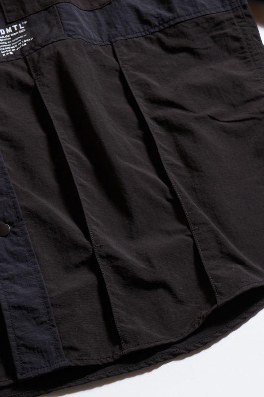 PATCHWORK SHIRT BLACK 21AW