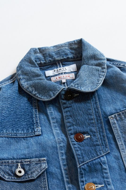 PATCHWORK COVERALL JACKET 3YR WASH 21AW
