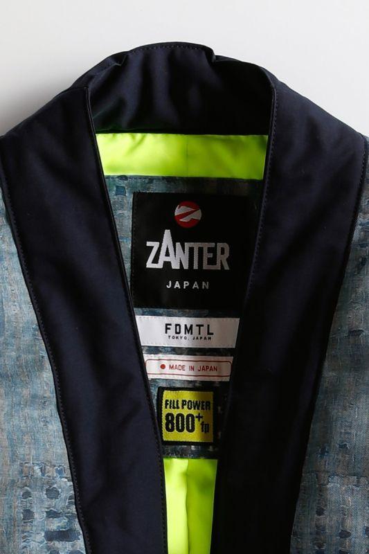 ZANTER HAORI DOWN JACKET for POGGY THE MAN