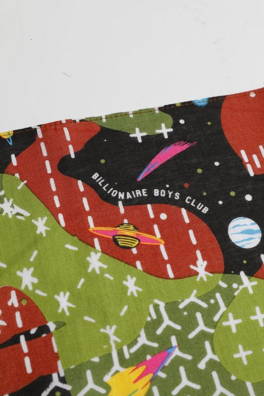 BILLIONAIRE BOYS CLUB × FDMTL SPACE CAMO SASHIKO BANDANA