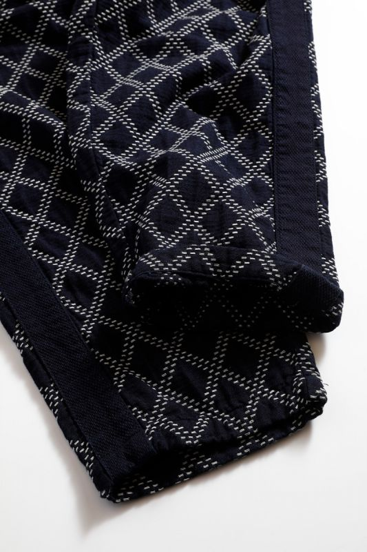 SIDE TAPE PANTS SASHIKO INDIGO