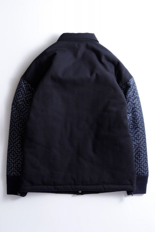 REFLECTIVE COACH JACKET NAVY
