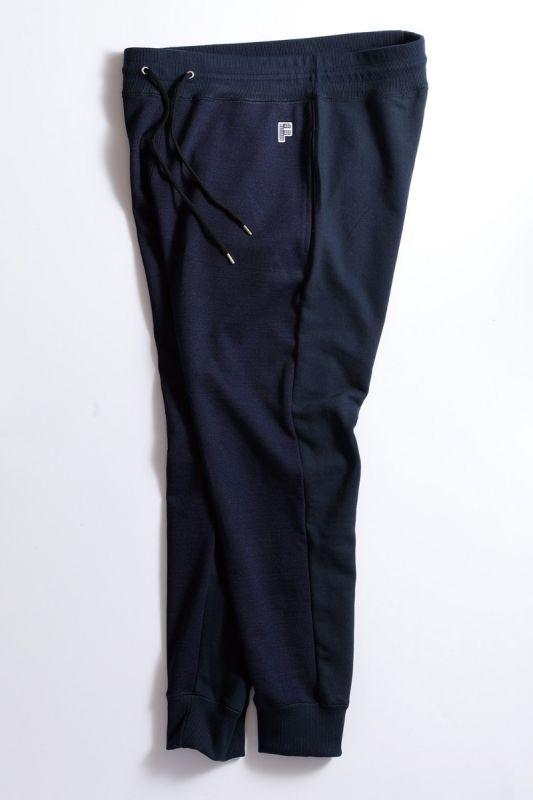 BICOLOR SWEAT PANTS NAVY