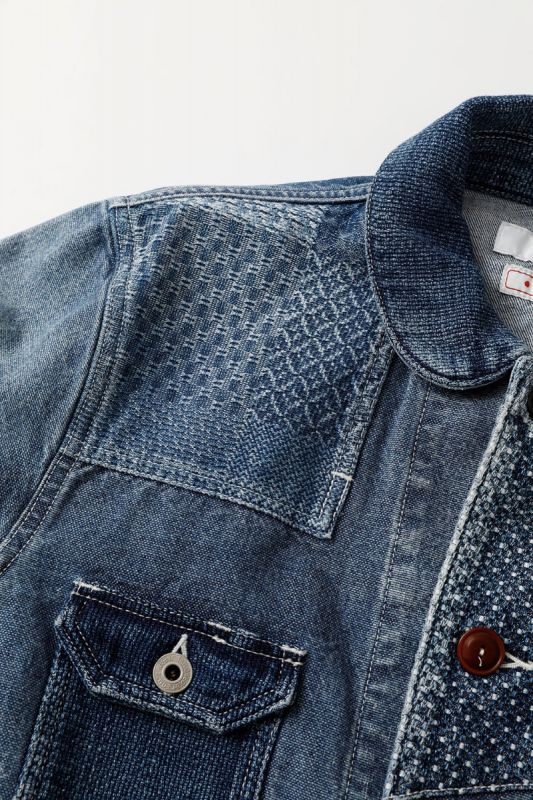 PATCHWORK COVERALL JACKET 3YR