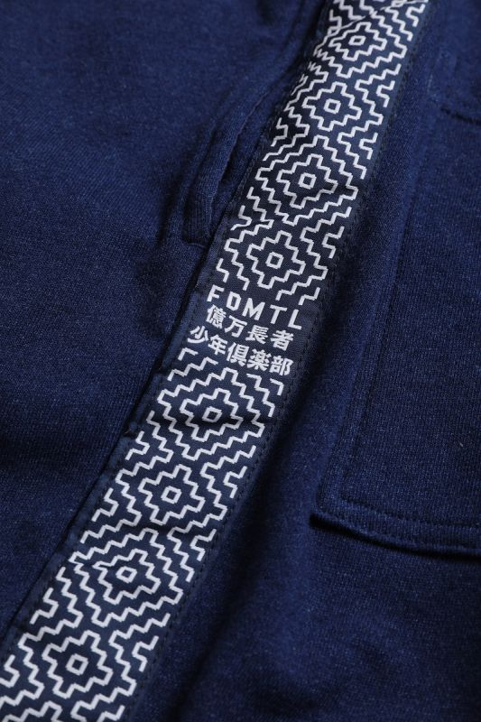 BILLIONAIRE BOYS CLUB × FDMTL INDIGO SWEAT PANTS
